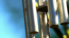 Wind chimes 11 Stock Footage