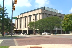 Downtown Toledo, Ohio Stock Footage