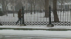 Salem-Winter - stock footage