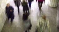 Walking people. Time lapse. Stock Footage
