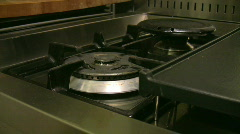 Stock Video Footage of Igniting a stove