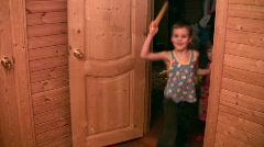Nursery merry play Stock Footage