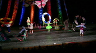 "Stock Video Footage of Show for children ""Abduction of the princess of fairies"""