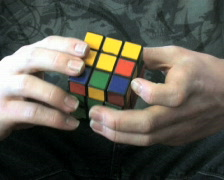 Rubiks Cube Genius 1 Stock Footage