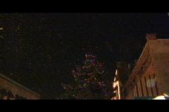 Small town Christmas magic 2 - stock footage