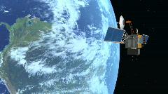 Spy Satellite Stock Footage