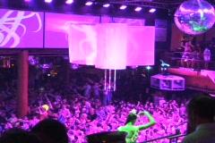 Raving, Ibiza, Partying, Travel, Dancing, Clubbing, Disco, Fun - stock footage