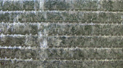 Water Wall With Beads Stock Footage