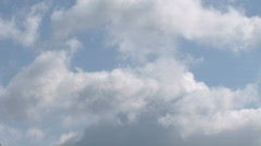 Sky timelapse flying clouds 3 - stock footage