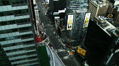NYC Times Square 04 Time-lapse Stock Footage
