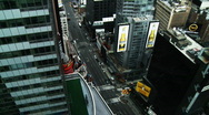 Stock Video Footage of NYC Times Square 04 Time-lapse