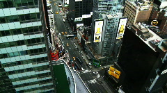 NYC Times Square 04 Stock Footage