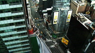 Stock Video Footage of NYC Times Square 04