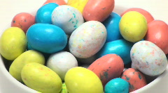 Easter eggs candy loop - HD  Stock Footage