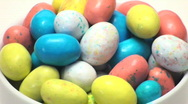 Stock Video Footage of Easter eggs candy loop - HD