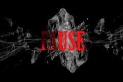Smoke pause Stock Footage