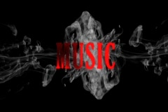 smoke music - stock footage