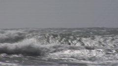 Chile Kitesurfer 2 Stock Footage