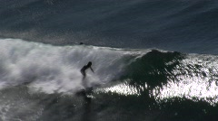 Chile Surfing-03 Stock Footage