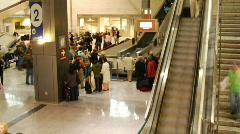 Baggage Claim Timelapse - stock footage