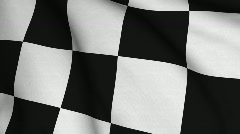 Chequered Stock Footage