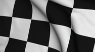 Stock Video Footage of Chequered