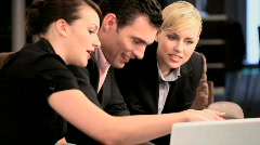 Business advertising Stock Footage