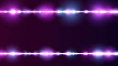 Particle Line Borders Purple BG Loop Stock Footage