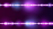 Stock Video Footage of Particle Line Borders Purple BG Loop