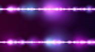 Particle Line Borders Purple BG Loop Stock Footage
