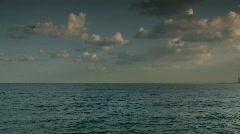 Stock Video Footage of Tel aviv seashore pan