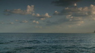 Tel aviv seashore pan Stock Footage