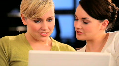 Social meeting of friends Stock Footage