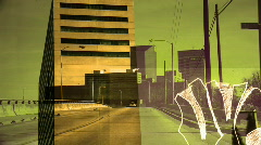 urban montage1 - stock footage