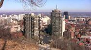 Downtown Hamilton, Ontario. Stock Footage