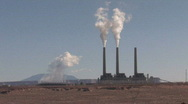 Power Plant pollute P HD Stock Footage