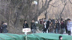 Peking Uni. campus 2 Stock Footage