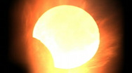 Stock Video Footage of Solar eclipse 4