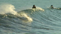 Just A Taste Of Surfing - stock footage