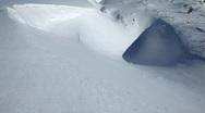 Powder snow Stock Footage