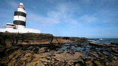 Hook Lighthouse  Stock Footage