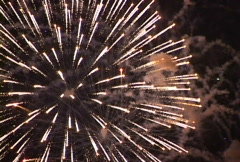 Fireworks -  Gracious Skies Stock Footage