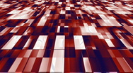 Red white and blue geometric background Stock Footage