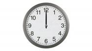 Stock Video Footage of db clock 01 hd1080