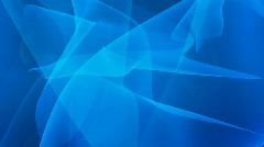 Abstract blue curves Stock Footage