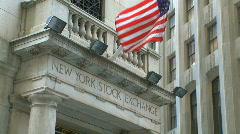 New York Stock Exchange (8 of 8) Stock Footage