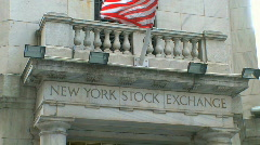 New York Stock Exchange (5 of 8) Stock Footage