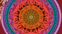 Pastel kaleidoscope Stock Footage