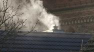 Smoke stack Stock Footage