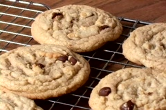 Cookies pan to right Stock Footage